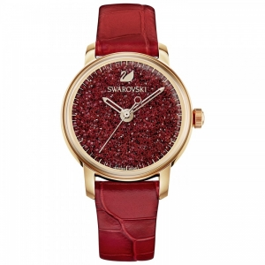 SWAROVSKI HORLOGE CRYSTALLINE HOURS RED