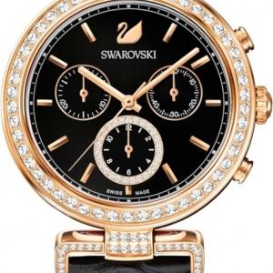Swarovski Era Journey horloge – Zwart